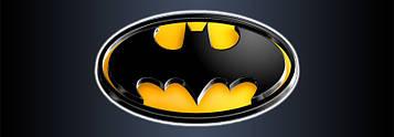 """""""Бетмен: чёрный"""" - Наклейка Бутылка (2) 14*5 см."""