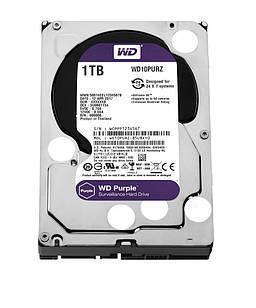 Накопитель HDD SATA 1.0TB WD Purple 5400rpm 64MB (WD10PURZ)