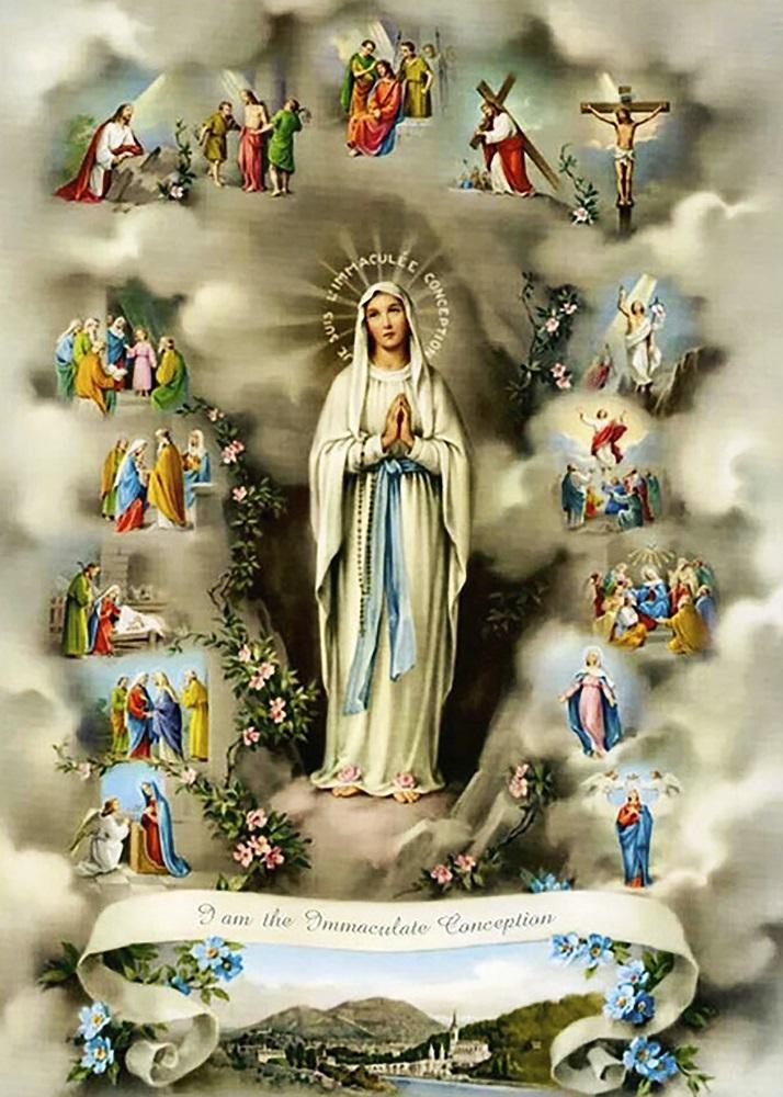 КДИ-0798 Набор алмазной вышивки Жизнь Пресвятой Богородицы