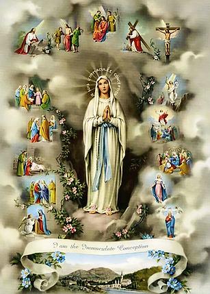 КДИ-0798 Набор алмазной вышивки Жизнь Пресвятой Богородицы, фото 2