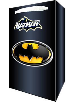 """""""Бетмен: чёрный"""" - Пакет бумажный"""