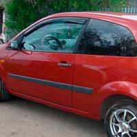 COBRA TUNING Дефлектори вікон на Ford Fiesta VI '02-08 3d (накладні), фото 1