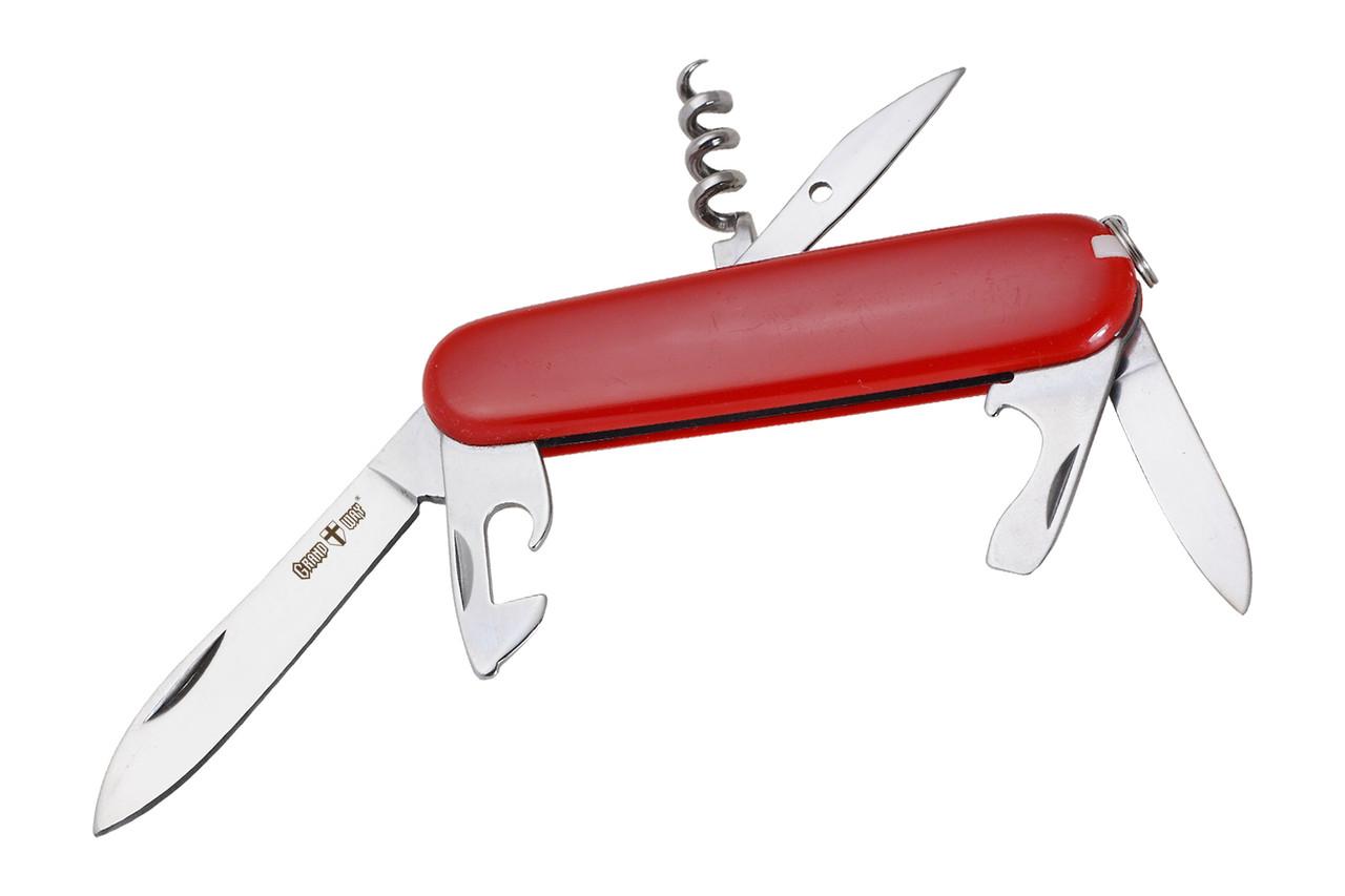 Нож многофункциональный (мультитул) E-56 (11 в 1) Grand Way