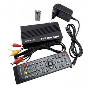 Цифровой телевизионный приемник WIMPEX WX 3201-T2 DVB  + ПОДАРОК: Настенный Фонарик с регулятором BL-8772A, фото 2