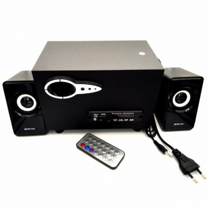 Компьютерные колонки акустика Zee-Cool ZC-215 Чёрные