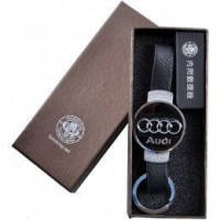 Новинка Подарочная Usb Зажигалка брелок Audi 4356 Выделись среди толпы Будь стильным Подарок водителю Успей
