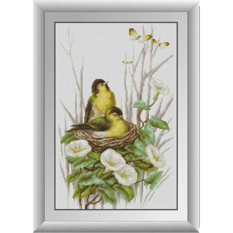 31028 Ніжні пташки Набір алмазної живопису