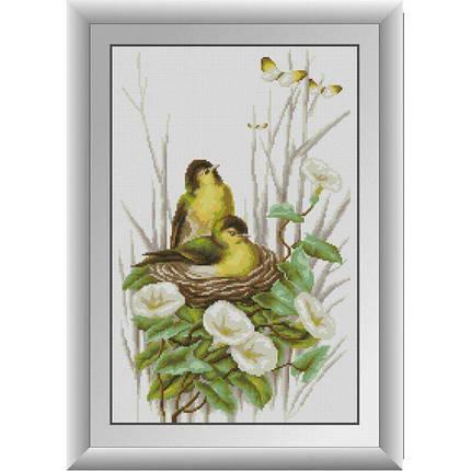 31028 Ніжні пташки Набір алмазної живопису, фото 2