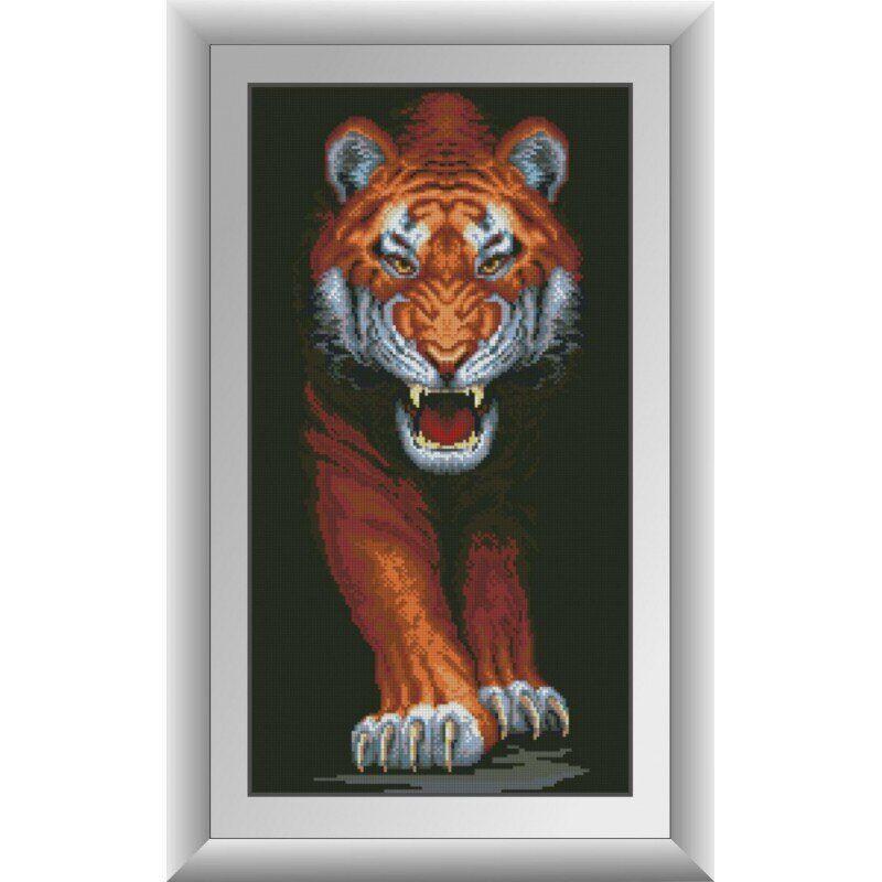 31054 Хищный тигр Набор алмазной живописи