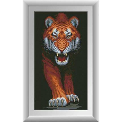 31054 Хищный тигр Набор алмазной живописи, фото 2