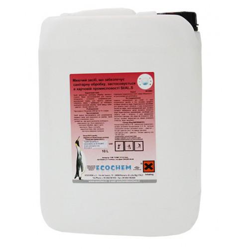 Средство моющее с дезинфекцией 10л для проведения санитарной обработки Ecochem (Италия)