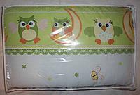 Защита высокая, раздельная с чехлами на молнии и постель в детскую кровать, фото 1
