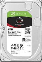 Накопитель HDD SATA 6.0TB Seagate IronWolf Pro NAS 7200rpm 256MB (ST6000NE000)