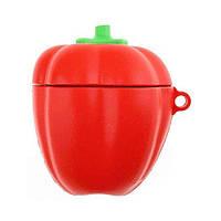 Чехол для наушников Apple AirPods Alitek Сладкий Перец (красный) + карабин (88665)
