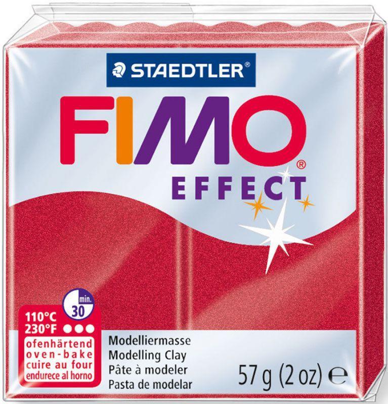 Пластика Effect, Рубіново-червоний металік, 57 м, Fimo