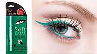 Каджал Софт Каджал подводка 0,31г зелений, Blue Heaven Soft Kajal Eyeliner, Аюрведа Здесь