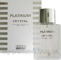 Туалетная вода для мужчин Platinum Crystal 100 ml
