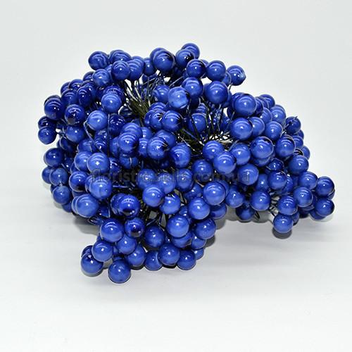 Ягоди / тичинки 11 мм, сині