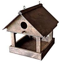 """✅ Будиночок для птахів, """"Горихвістка"""", годівничка для синичок, це, дерев'яна годівничка для птахів"""