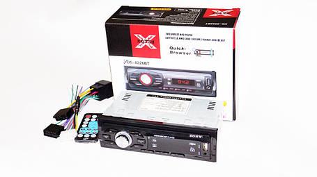Автомагнитола Sony 8226BT ISO Bluetooth, MP3, FM, USB, SD, AUX, фото 2