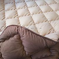 Одеяло ОДА евро 200х220 см.   Тепла ковдра, наповнювач холлофайбер   Одеяло стёганное теплое на холлофайбере