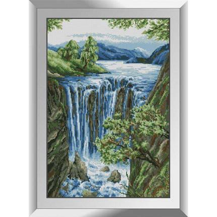 31112 Водопад Набор алмазной живописи, фото 2