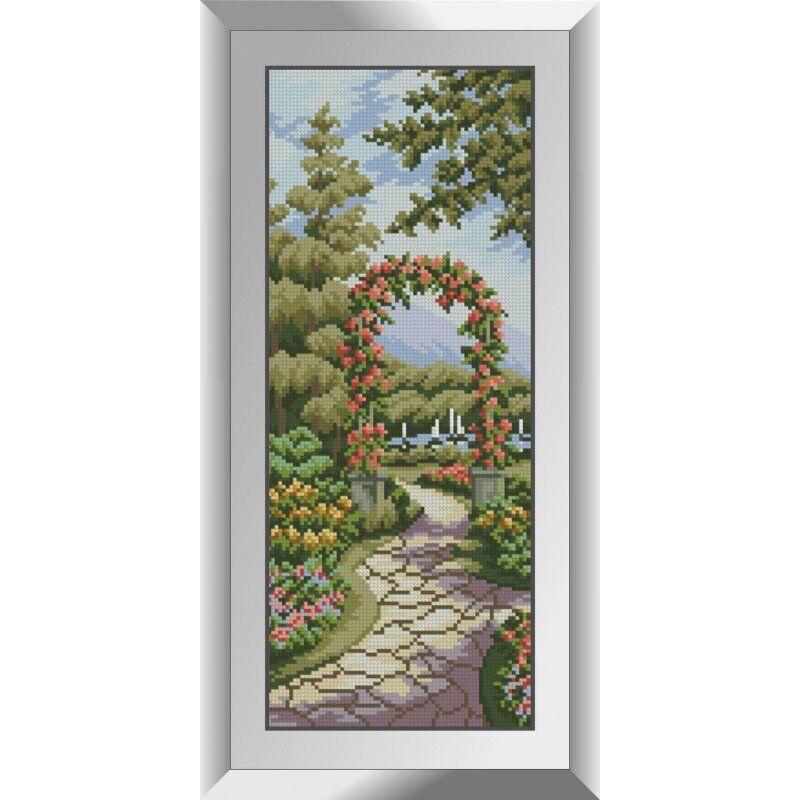 31114 Цветочная арка Набор алмазной живописи