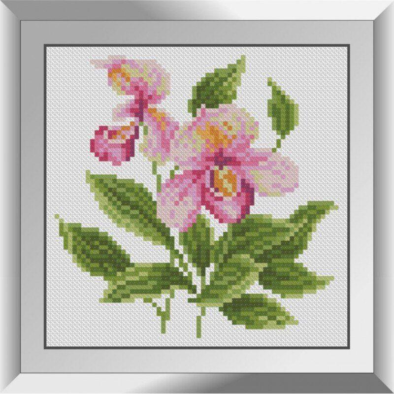 31120 Букетик с орхидеей Набор алмазной живописи