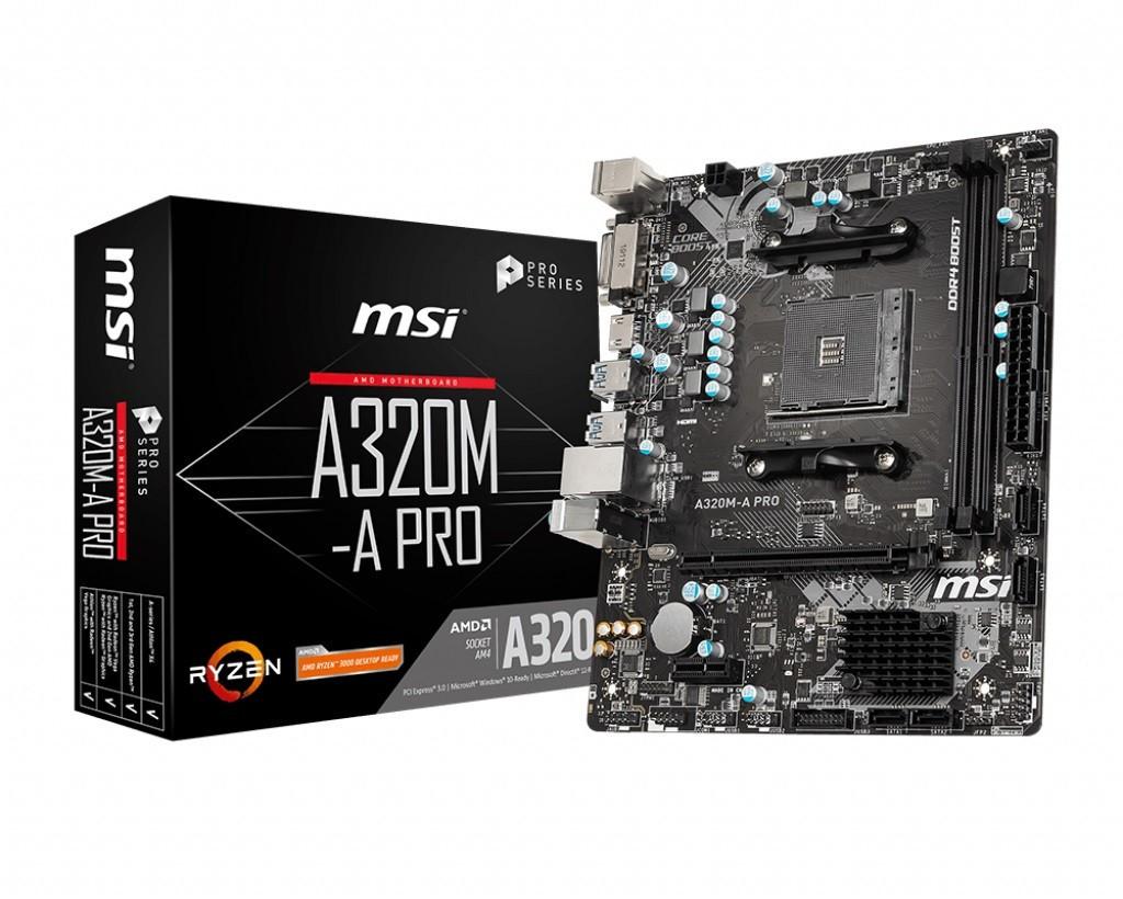 Материнская плата MSI A320M-A Pro Socket AM4
