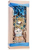 Подарочный новогодний набор малый голубой. Ванильный Ангел