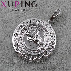 Иконка Xuping медицинское золото Silver - 1020573306
