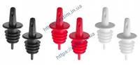 Гейзер хромированный - набор 6 шт (2 белых, 2 красных, 2 черных)