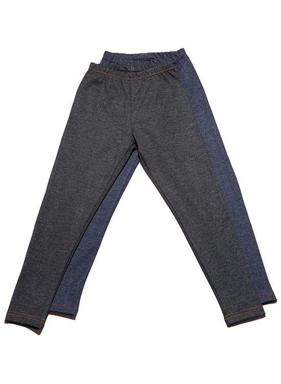 Детские леггинсы-брюки под джинс (122-152 в расцветках)