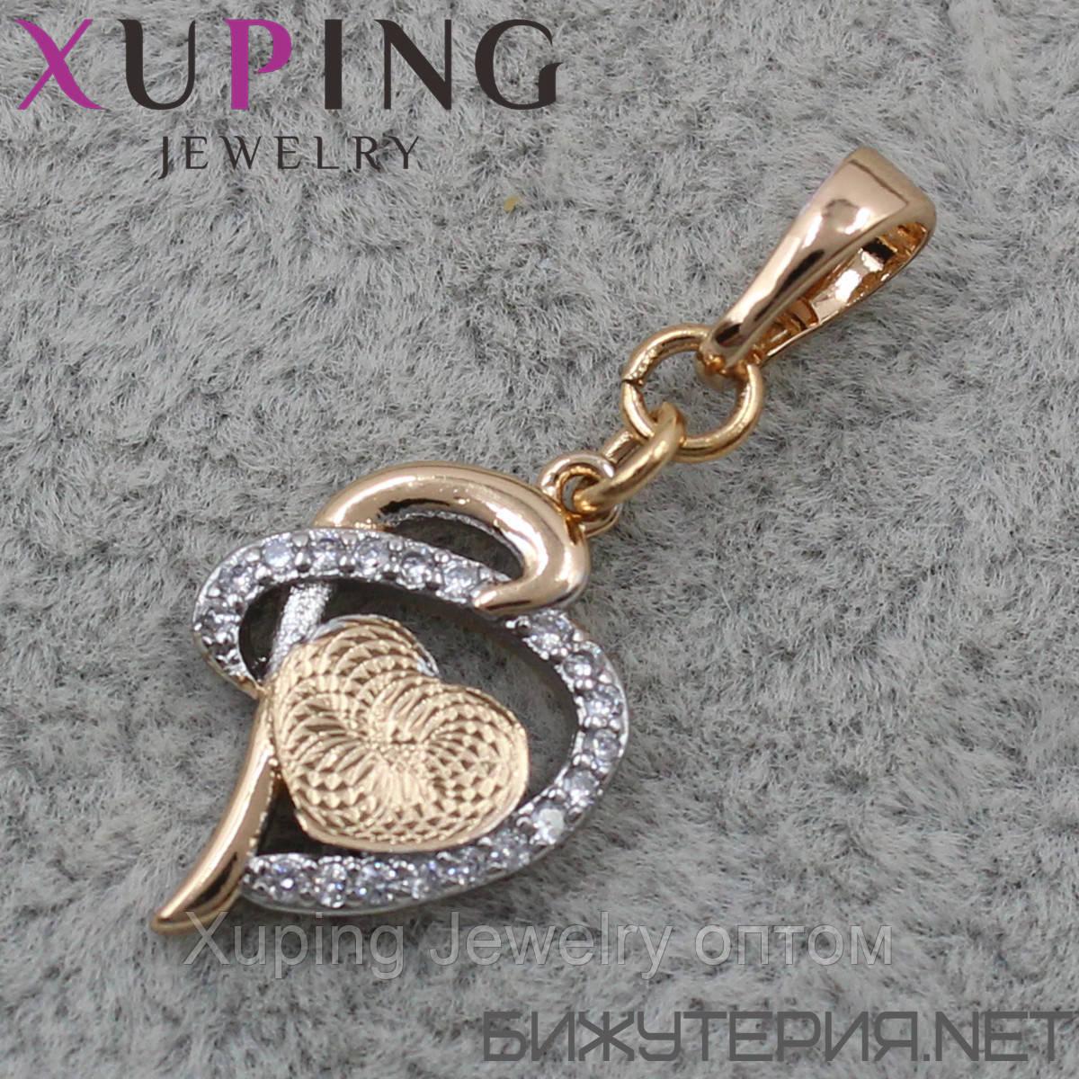 Кулон (подвеска) Xuping медицинское золото 18K Gold - 1023628091