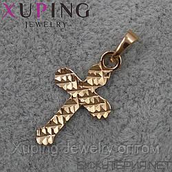 Крестик Xuping медицинское золото 18K Gold -1019643848