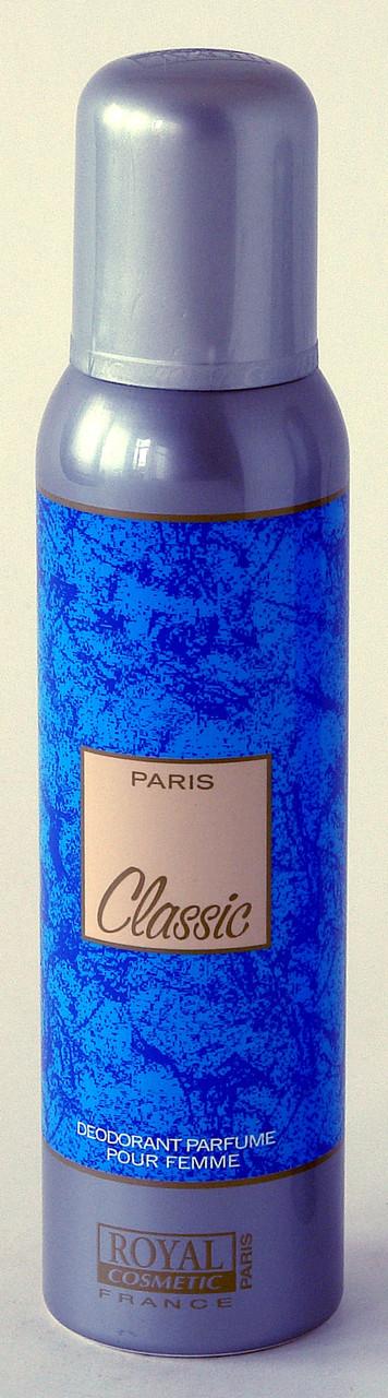 Парфюмированный дезодорант CLASSIC  150 ml