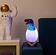 Ночник-лампа 3D Динозавр Dino в яйце (светильник), фото 7
