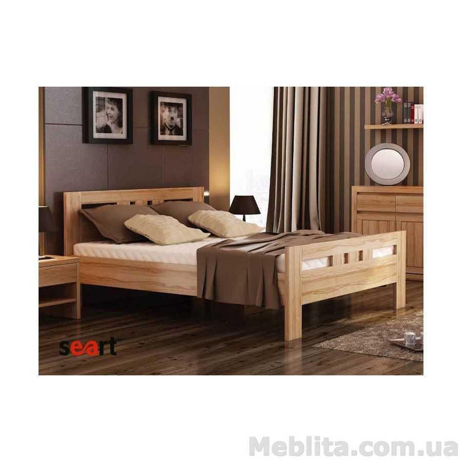 Кровать из массива дерева Елизавета