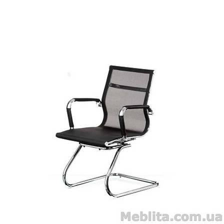 Кресло офисное Solano mеsh confеrеncе black Special4You, фото 2