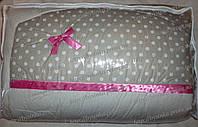 Детское постельное белье в кроватку (9 предметов)+Конверт на выписку, фото 1