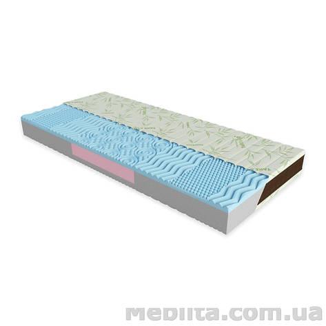 Ортопедический матрас Take&Go Bamboo NEO BLUE 140х190 ЕММ, фото 2