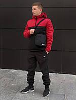 Мужской утепленный анорак в стиле Nike 7 цветов в наличии