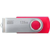 Флеш-накопитель USB3.0 128GB GOODRAM UTS3 (Twister) Red (UTS3-1280R0R11)