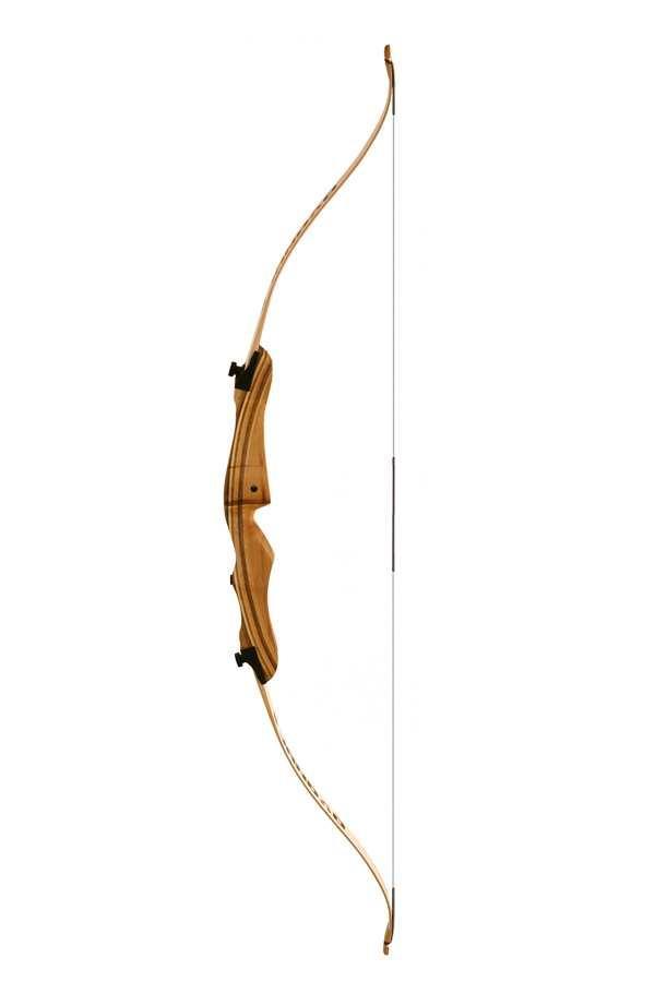 """Лук классический Jandao/Sanlida (длина 58"""", усилие 18 lbs, белые плечи) Jandao - 54/18 - White"""