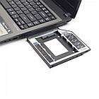 "Адаптер HDD 2,5"" для ноутбука в отсек CD-ROM Gembird MF-95-01, фото 5"