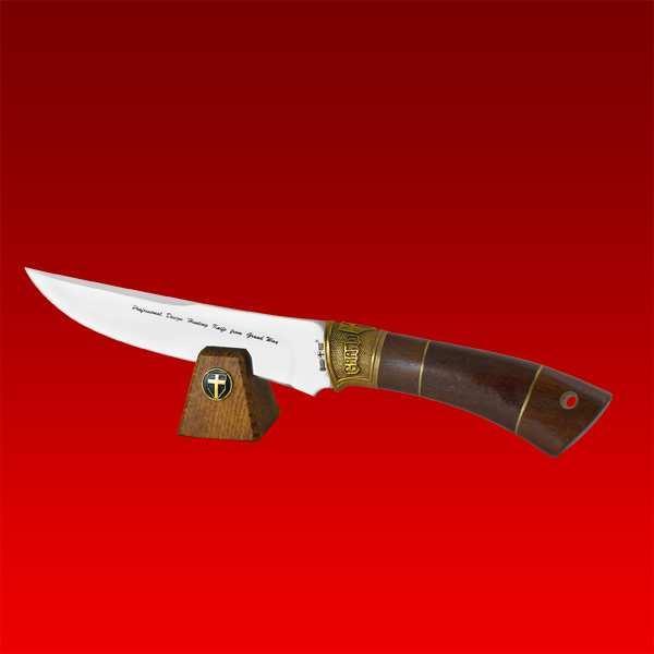 Подставка горизонтальная для 1 ножа деревянная 1