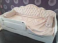 """Подростковая кровать """"Л-6"""" Италия  с выдвижными ящиками"""