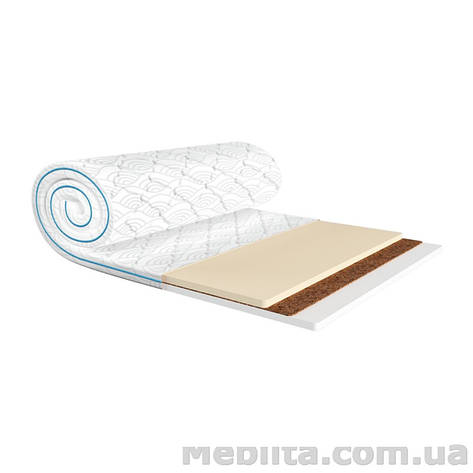 Мини-матрас Sleep&Fly mini MEMO 2в1 KOKOS жаккард 160х190 ЕММ, фото 2