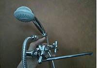 Смеситель для ванны двух-вентильный латунный Europrodukt Dominox излив 35 см