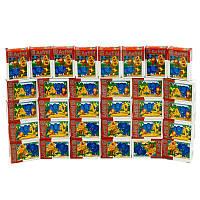 Пазлы 38 попугаев, 54 эл., в блоке 32 шт, - 181270